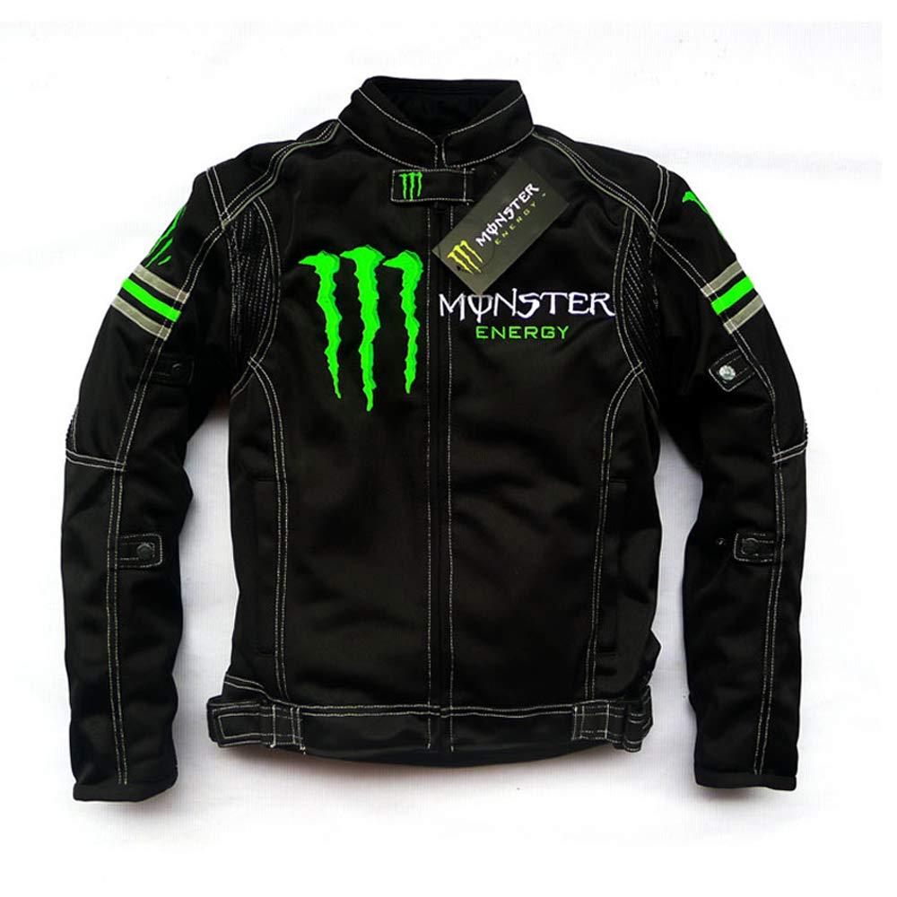 Monster Energy バイクジャケット メッシュ メンズ B07GNDF8XL 1枚目