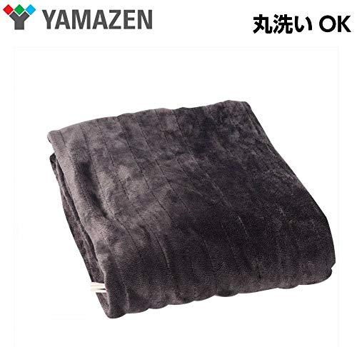 山善 (YAMAZEN)  山善 (YAMAZEN) 洗えるミックスフランネル 電気掛敷毛布 シングルサイズ YMK-CT42(GY) B07JLVM8XK 1枚目