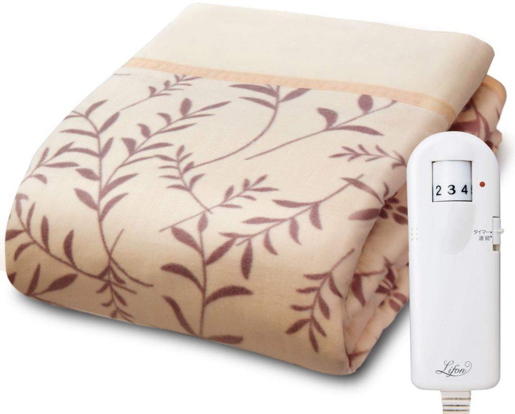 広電 広電(KODEN) 電気毛布 掛け敷き シングル 188×130cm B07HMRZFXN 1枚目