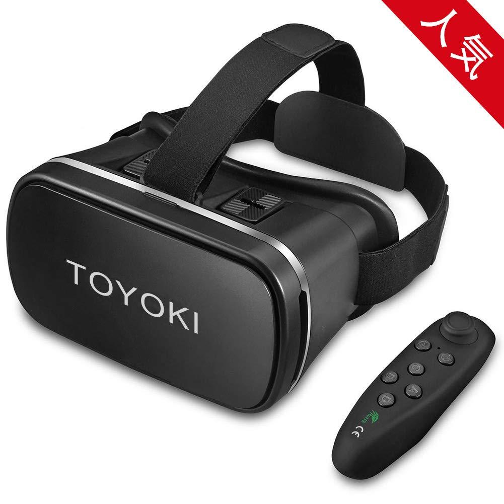 TOYOKI 3D VRゴーグル VR ヘッドセット  ブラック B07ST85F85 1枚目