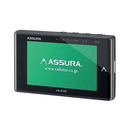 セルスター GPS内蔵 レーダー探知機CELLSTAR ASSURA(アシュラ) VA-810E B01AP63DRK 1枚目
