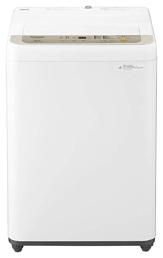 Panasonic (パナソニック) 全自動洗濯機 洗濯 5kg つけおきコース搭載 シャンパン NA-F50B12-N B07JWSRHGW 1枚目