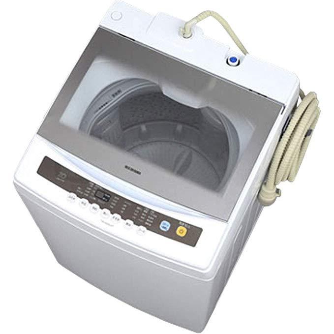 アイリスオーヤマ 全自動洗濯機 7kg 簡易乾燥機能付き IAW-N71 B07QVNR1CK 1枚目