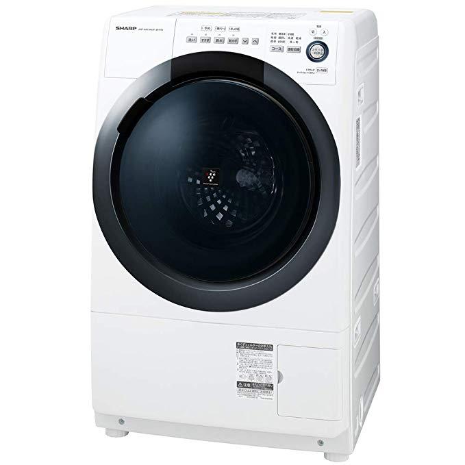 SHARP (シャープ) ドラム式洗濯乾燥機(ヒーターセンサー乾燥) 右開き(ヒンジ右) 洗濯7kg/乾燥3.5kg ES-S7D-WR B07NRZP5QH 1枚目