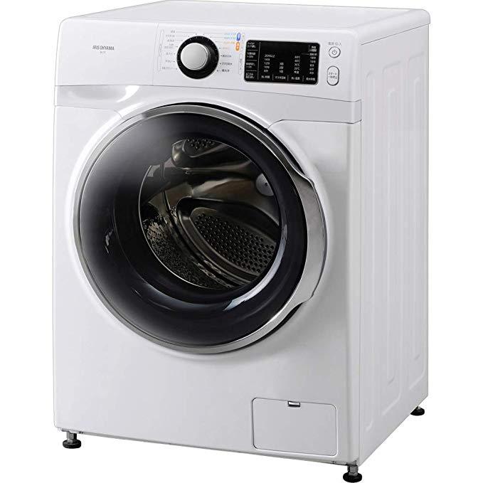 アイリスオーヤマ ドラム式洗濯機 温水洗浄機能付き 7.5kg FL71-W/W B07KKBHQZC 1枚目