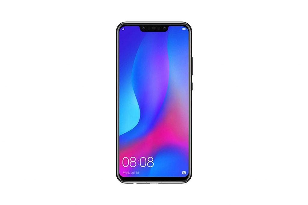 HUAWEI Nova 3 6.3インチ SIMフリー スマートフォン ブラック nova 3/Black B07HXGWZZD 1枚目