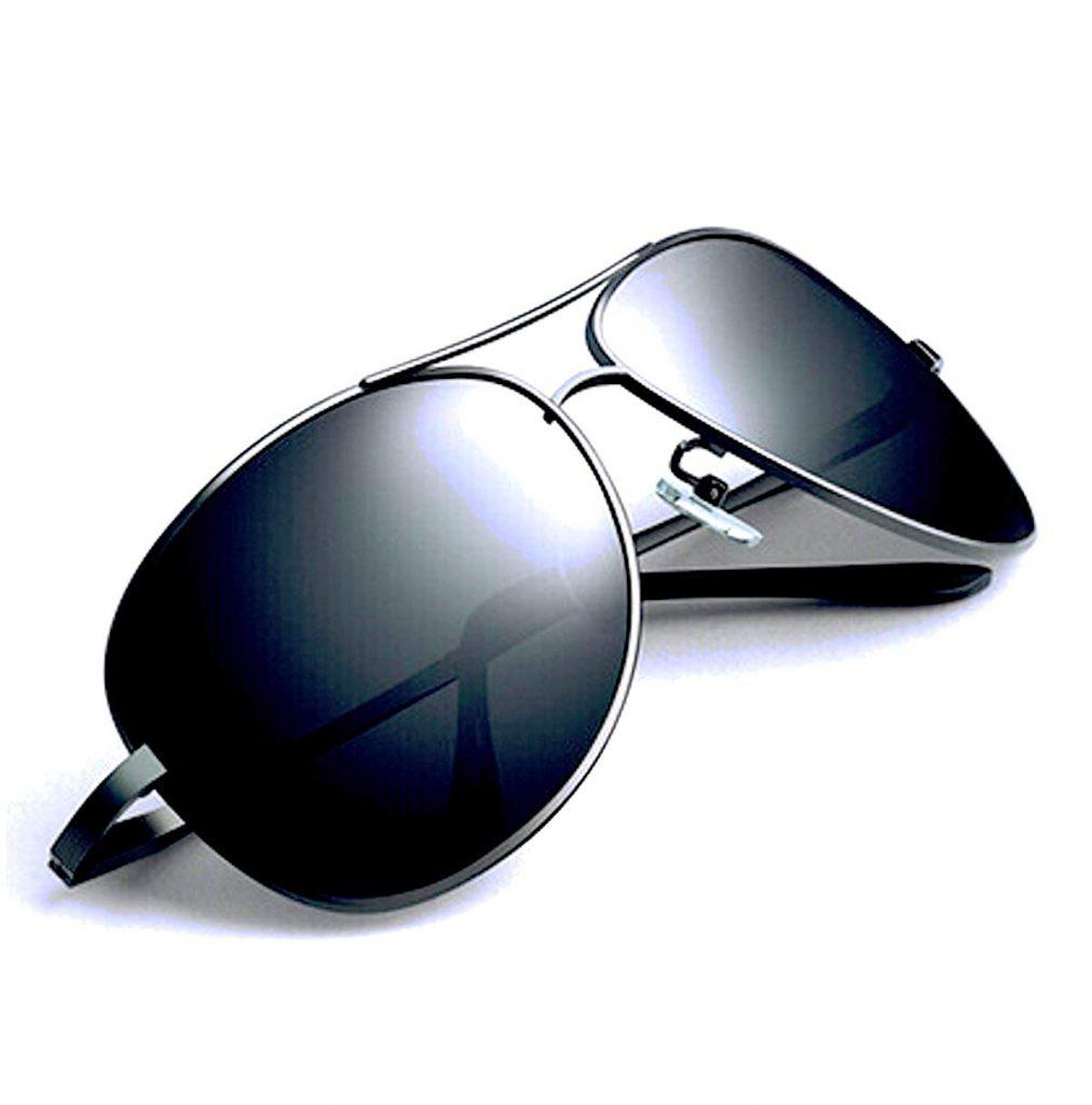 FREESE(フリーゼ) メンズサングラス クラシックデザイン UVカット  B077P5Q3NX 1枚目