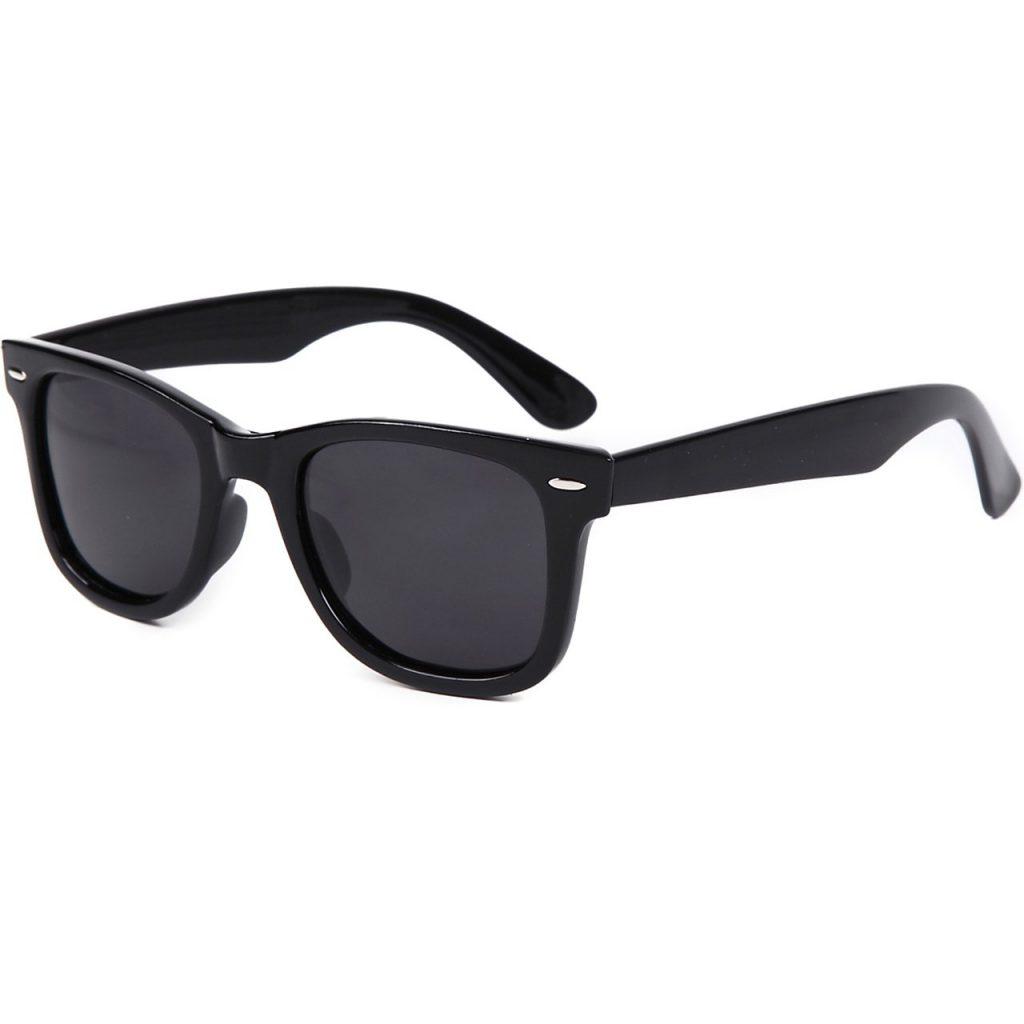 FERRY (フェリー) 偏光レンズ ウェリントン サングラス ポーチ&クロス セット ユニセックス B011WW997O 1枚目