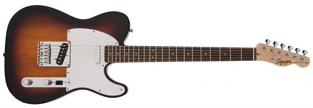 Squier by Fender エレキギター FSR Affinity Telecaster, Laurel Finger Board, 3 Tone Sunburst B07QH6DFP1 1枚目