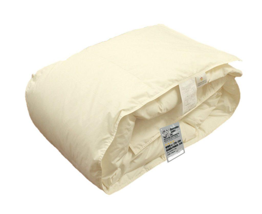 日本寝具通信販売 ハンガリー産ホワイトダウン 羽毛肌布団  B0055AS9R6 1枚目