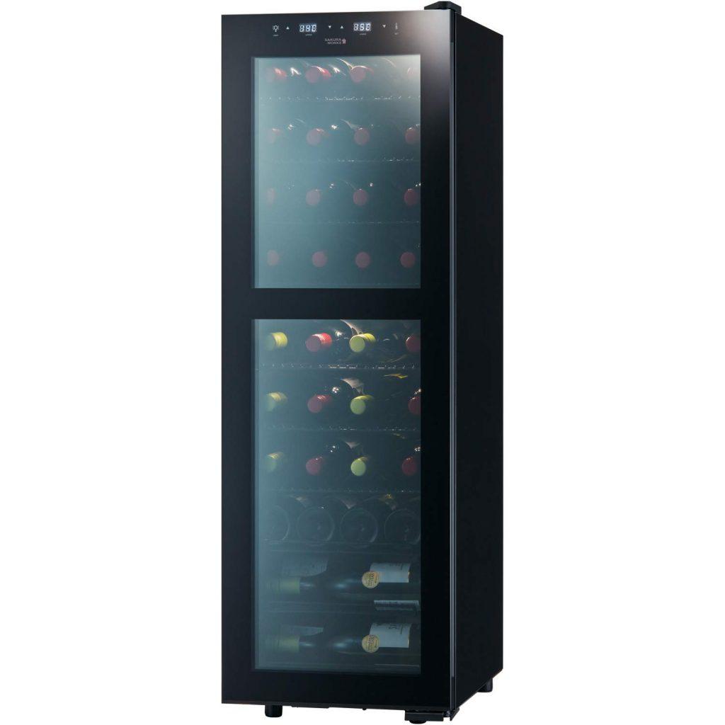 さくら製作所株式会社 低温冷蔵 ワインセラー ZERO CLASS Smart 38本収納 コンプレッサー式 2温度管理 B071X88QFW 1枚目