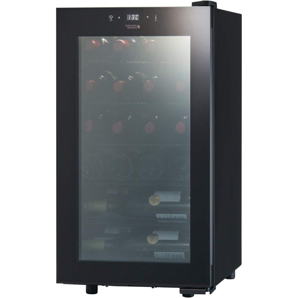 さくら製作所株式会社 低温冷蔵 ワインセラー ZERO CLASS Smart 22本収納 コンプレッサー式 B071GQ687B 1枚目