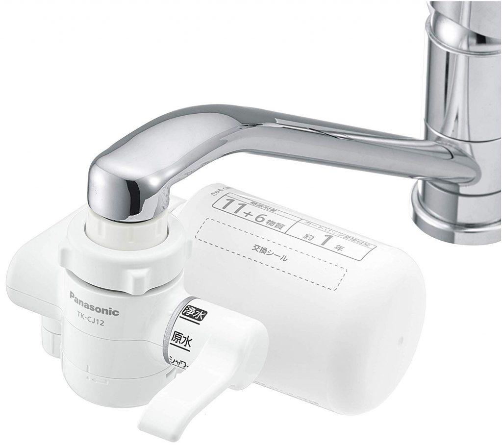 Panasonic 浄水器 蛇口直結型 ホワイト B06XKD9MC3 1枚目
