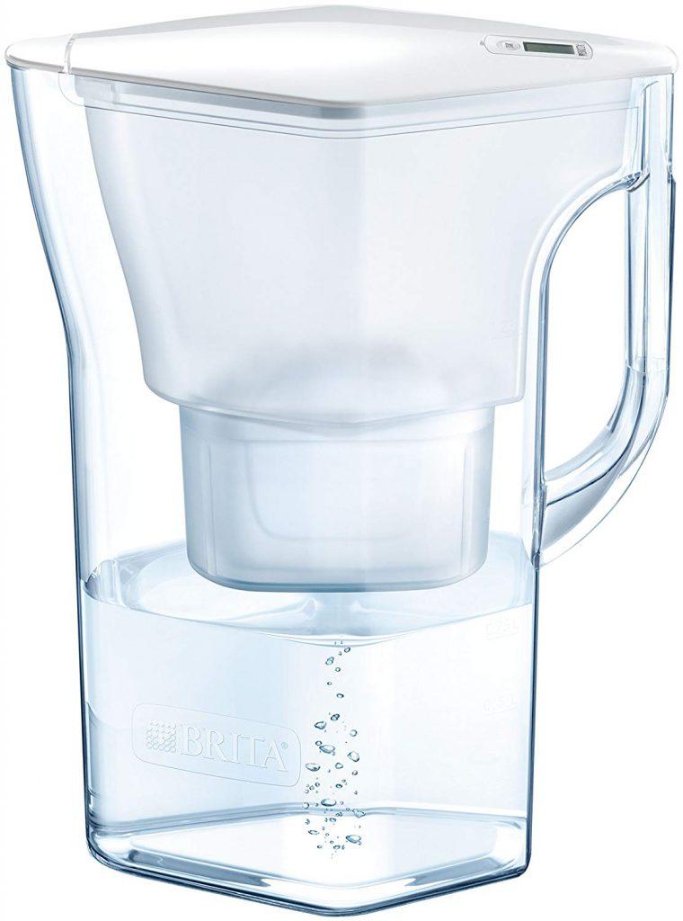 BRITA 浄水器 ポット 浄水部容量 ナヴェリア ホワイトメモ マクストラプラス カートリッジ  B07S351RK8 1枚目