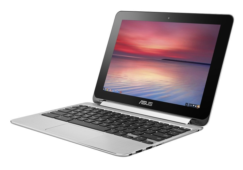 ASUS Chromebook Flip ノートパソコン C100PA/Chrome OS/10.1型/Quad-Core RK3288C/4G/eMMC 16GB/C100PA-FS0002 B07478GSTY 1枚目