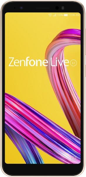 ASUS Zenfone Live L1 シマーゴールド「ZA550KL-GD32」  B07L1C9T28 1枚目