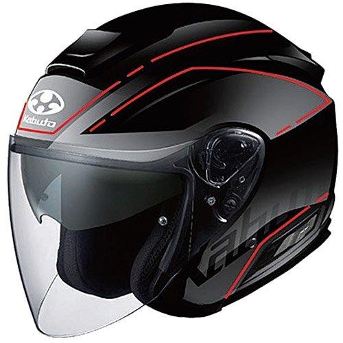 OGK KABUTO (オージーケーカブト) バイクヘルメット ジェット ASAGI BEAM(ビーム) フラットブラック 569563 XL (頭囲 61cm~62cm) B01NBXPW62 1枚目