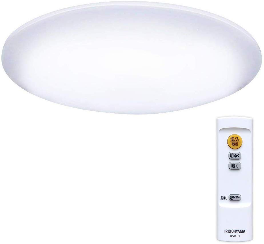 アイリスオーヤマ LED シーリングライト 調光 タイプ ~6畳 CL6D-5.0 B01I0WV9TA 1枚目