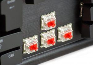 ゲーミングキーボード おすすめ 赤軸