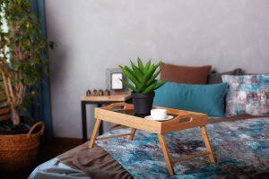 ベッドテーブル おすすめ デザイン